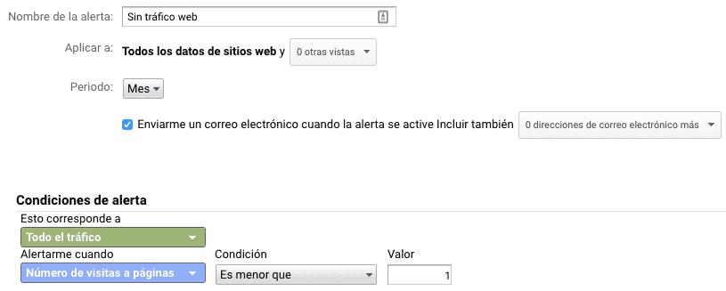 trucos de google analytics detectar errores tráfico web