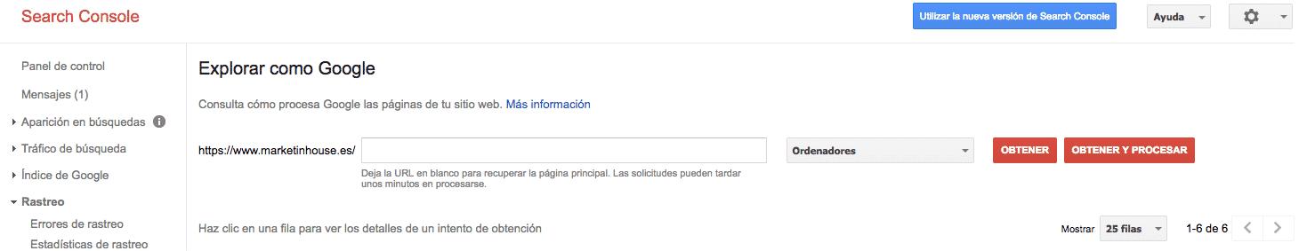 indexar en google