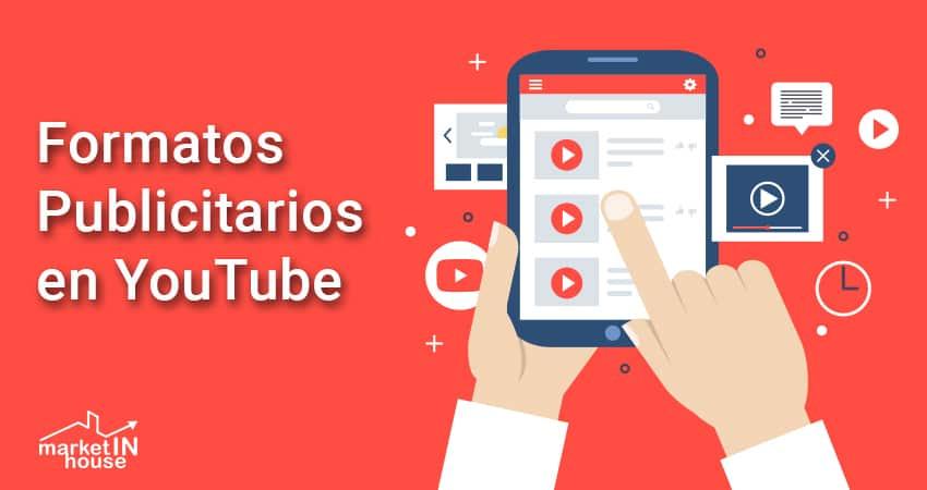 diferentes formatos publicitarios en Youtube