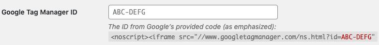 Paso 3 para configurar GTM en WordPress