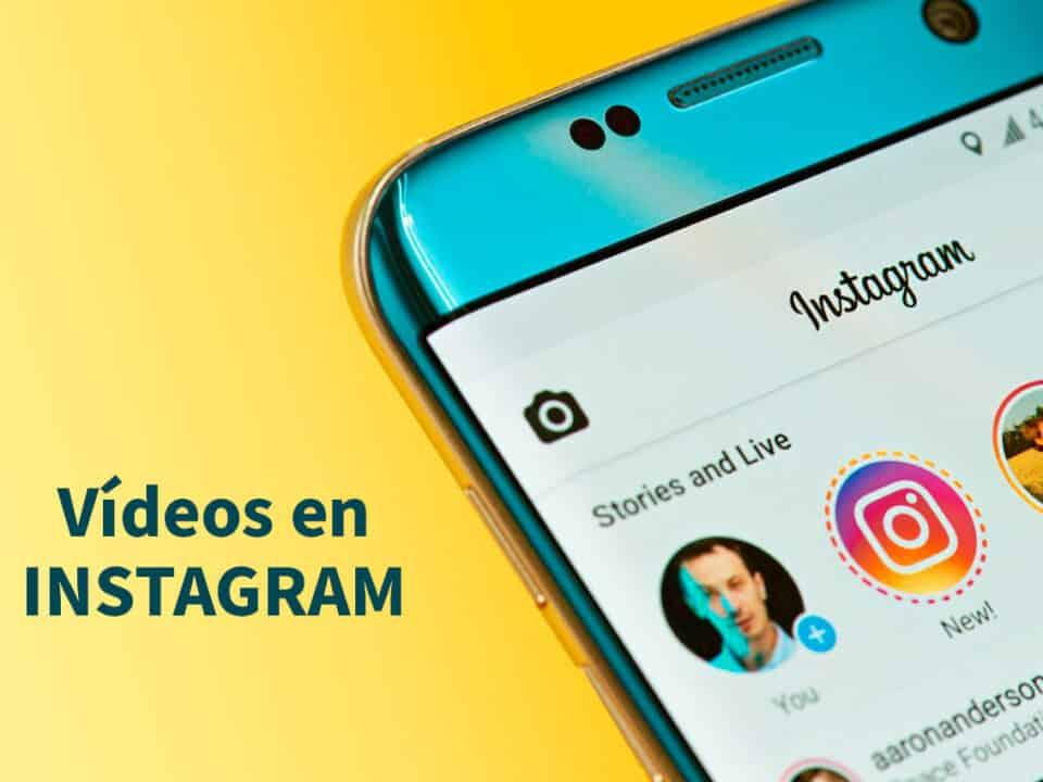 opciones que ofrecen los videos de instagram
