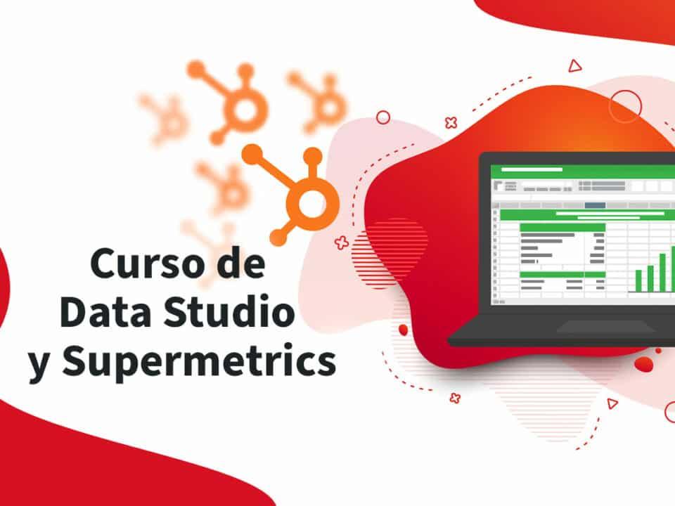 formación en datastudio y supermetrics