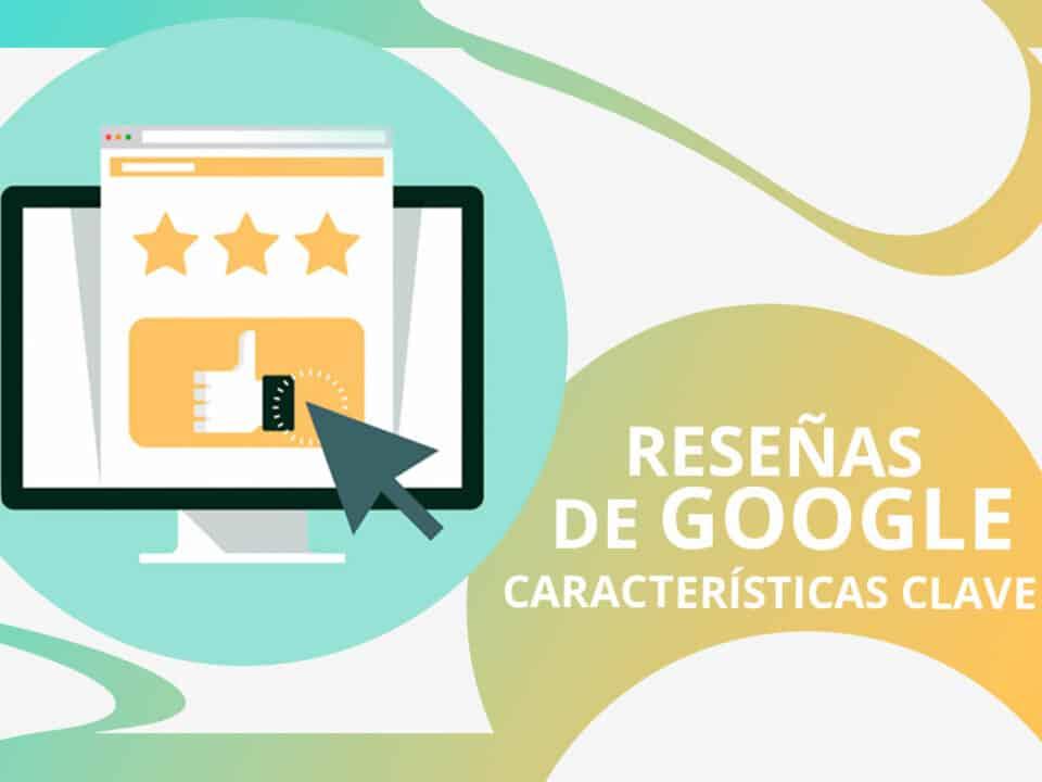 factores clave de las reseñas en Google