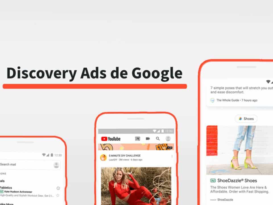 particularidades de discovery ads de google